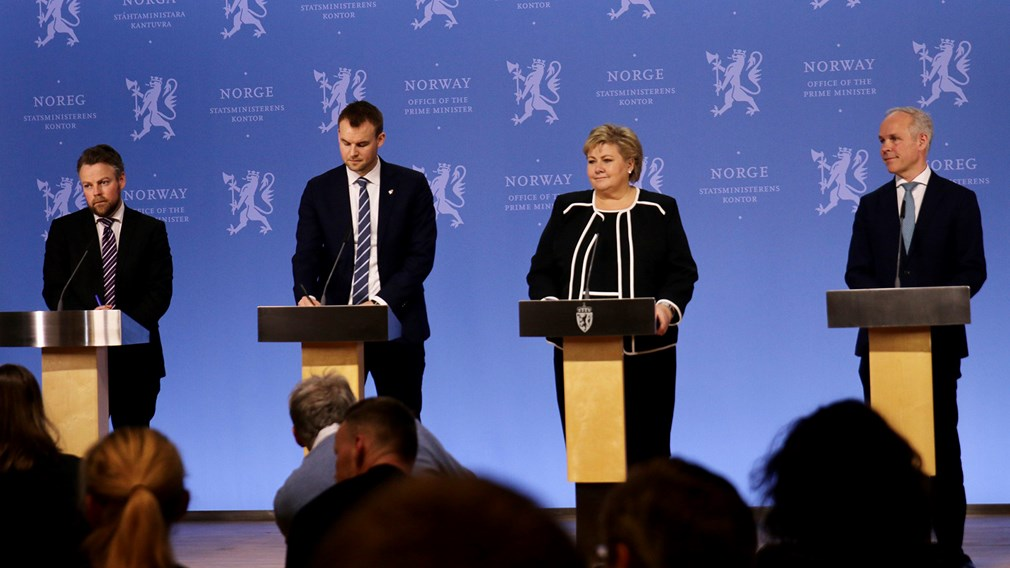 Norvegijos Vyriausybės paskelbtas kovos su korona viruso padariniais paketas